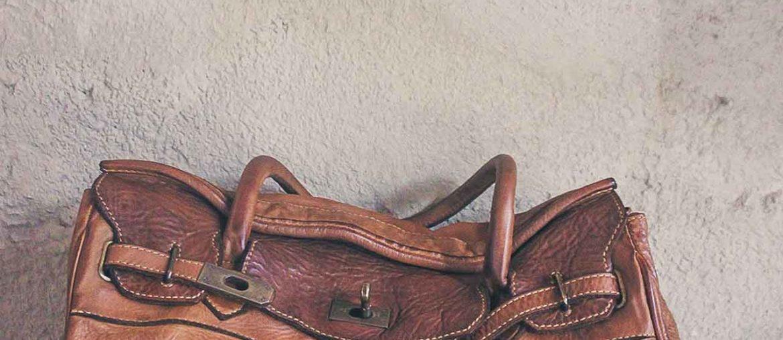 Bayside Ledertasche aus Bologna in braun