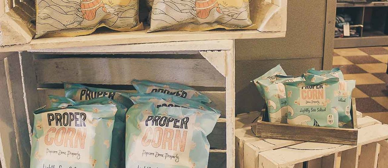 Propercorn Popcorn aus England ab sofort bei Vivamode