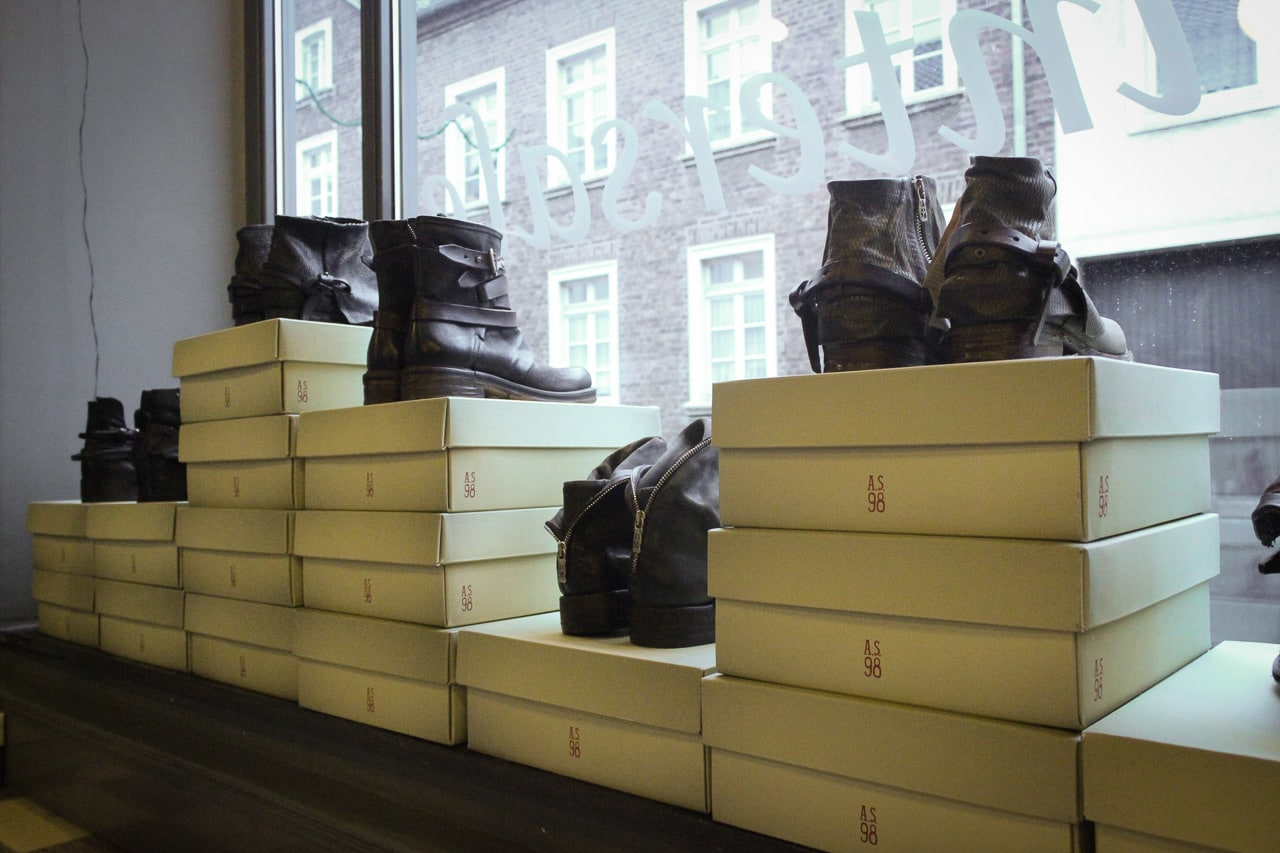AS 98 Schuhe im Wintersale