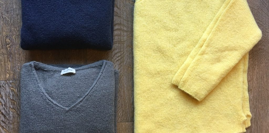 American Vintage Pullover in drei Farben