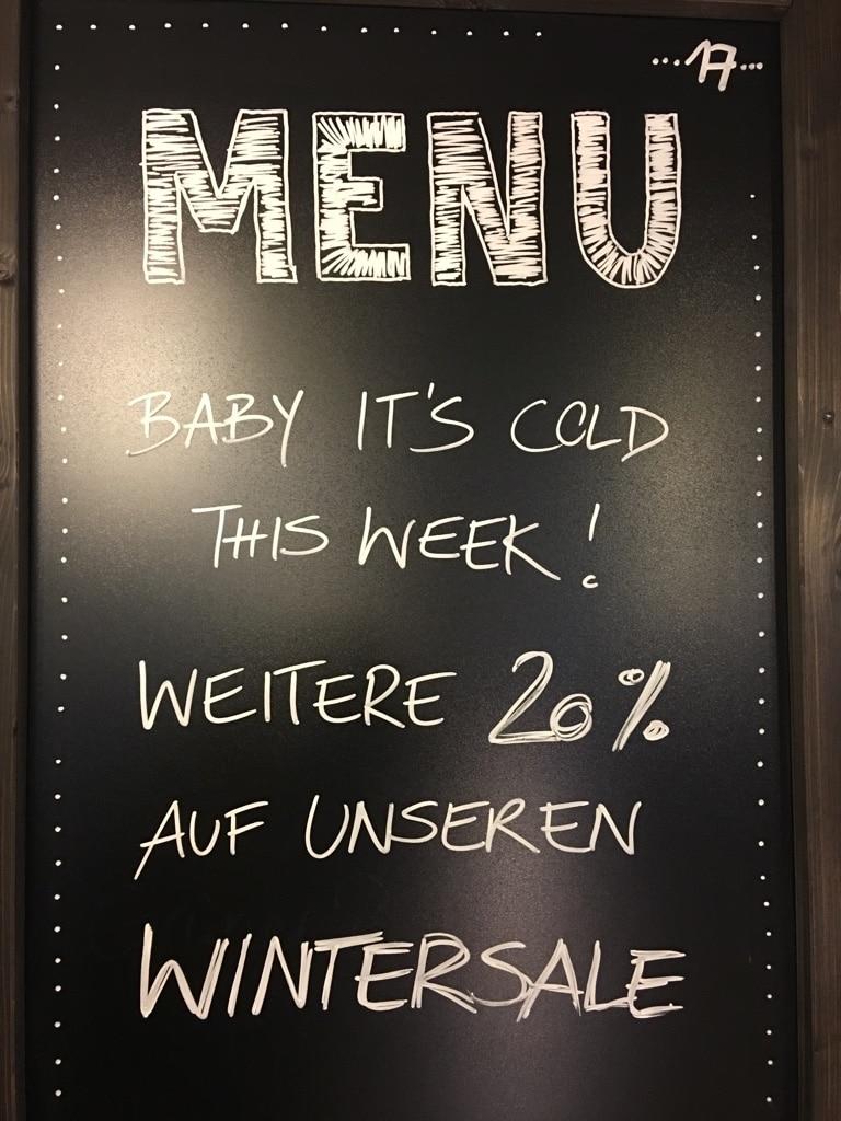Wintersale Endspurt