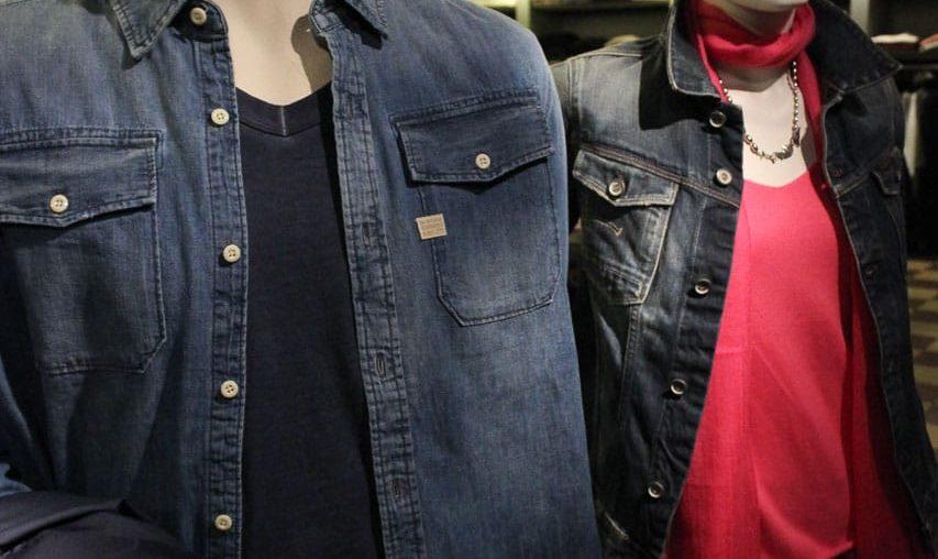 Jeans und Pink