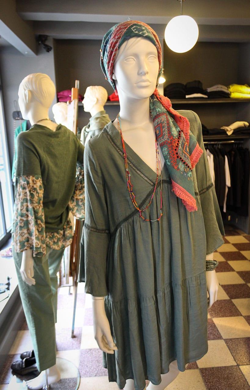 Sack's Kleid
