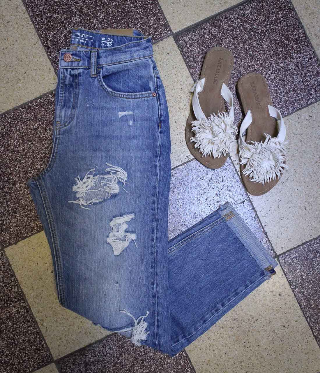 Destroyed Jeans Noisy May