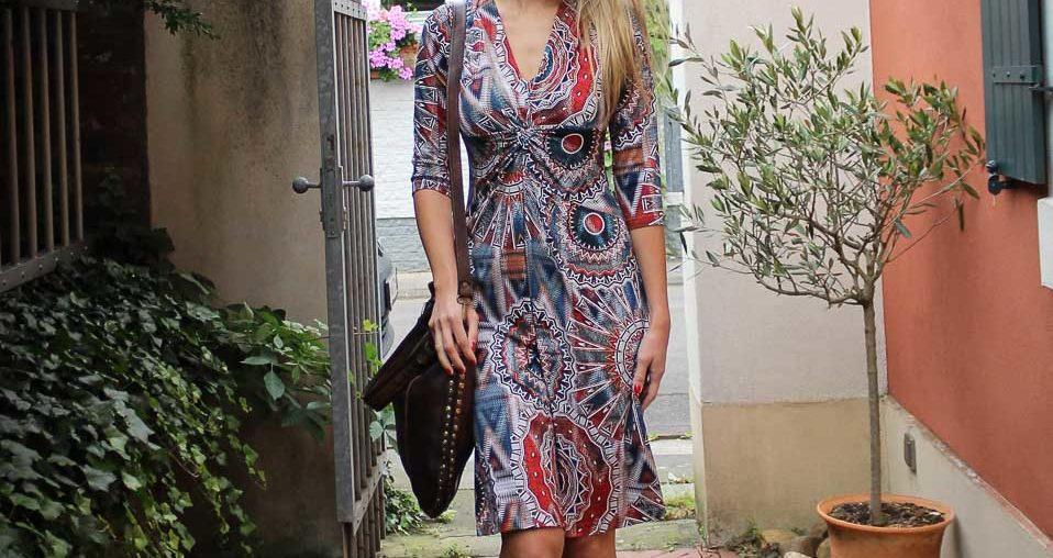 KD12 Kleid und Bayside Tasche