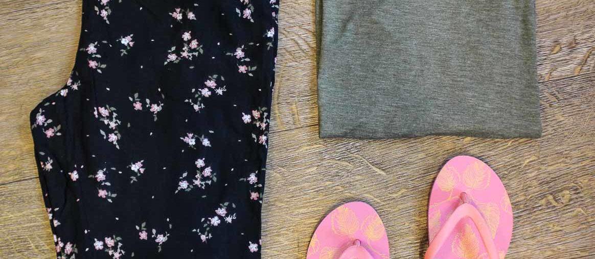 Sommeroutfit von Vero Moda und Pieces