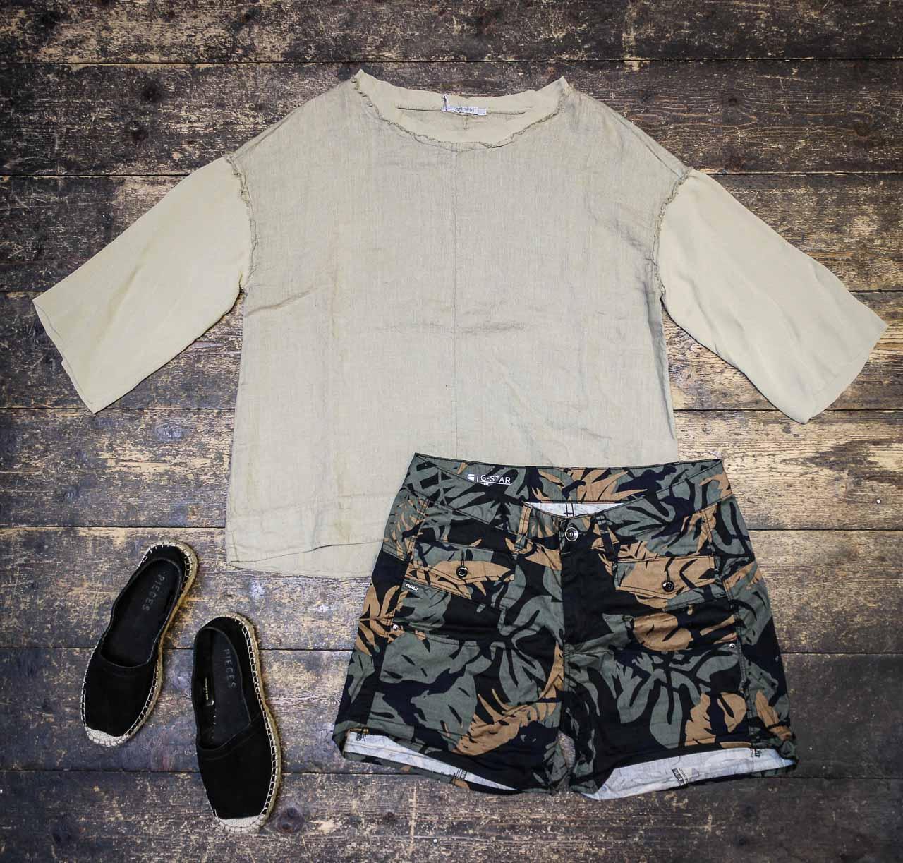 Sommer Outfit von G-Star, Transit und Pieces