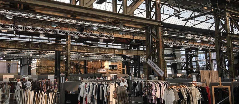 Modemesse im Areal Böhler