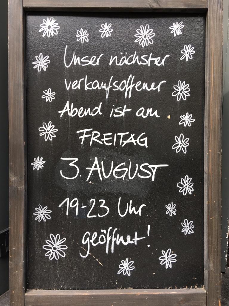 Langer Freitag im August