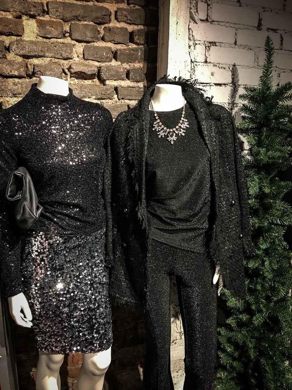 Outfits für die Weihnachtsfeier