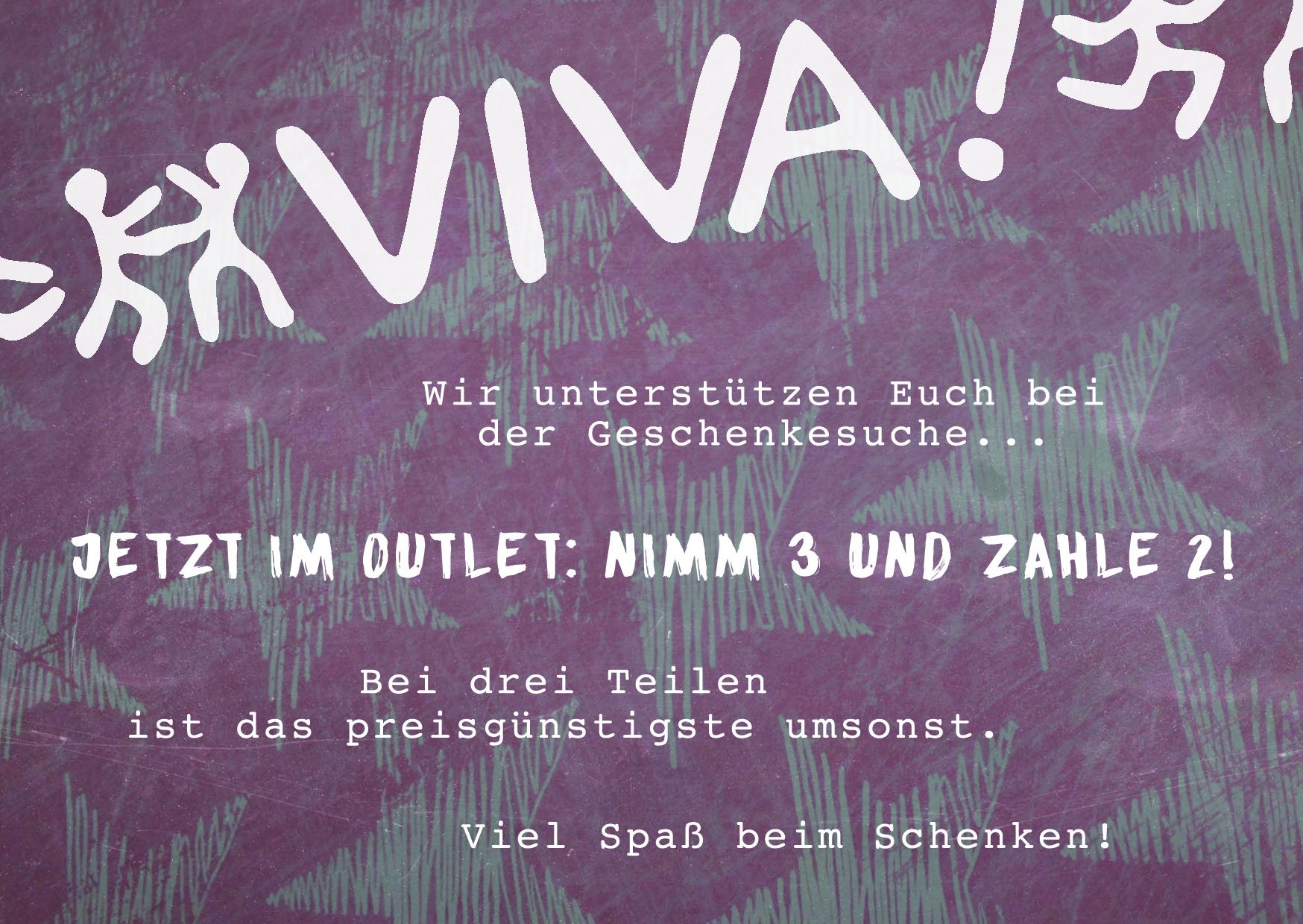 Outlet Aktion VIVA