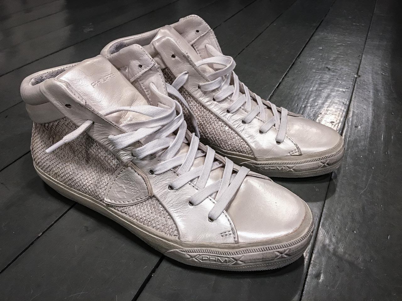 Pailetten Sneaker von Philippe Model