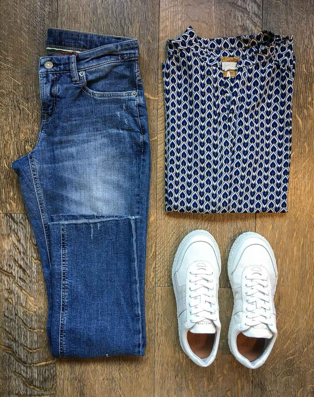 Outfit von Cambio, KD12 und Selected Femme