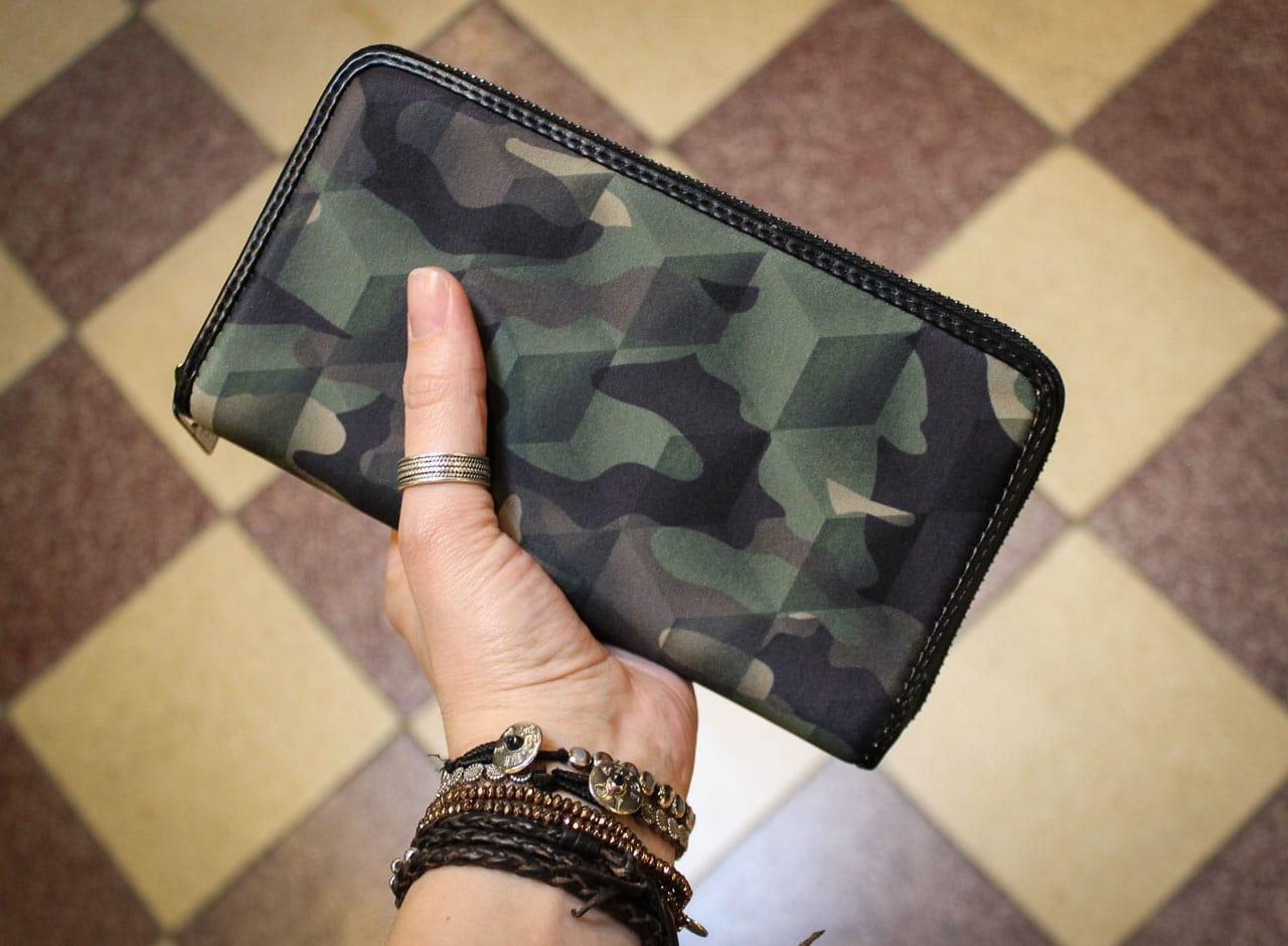 Save my bag Camouflage Portemonnaie