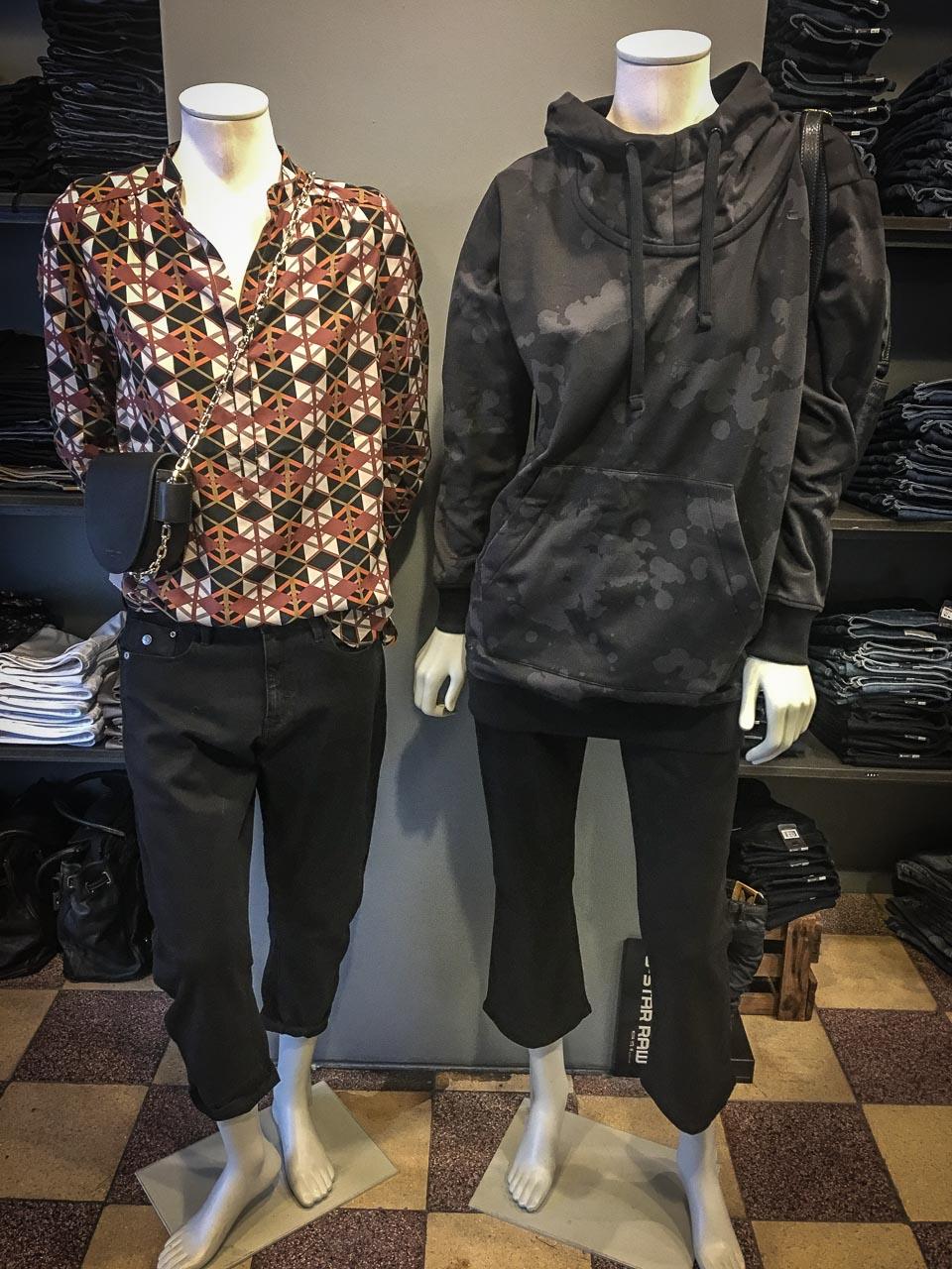 Outfits von G-Star, KD12 und Drykorn