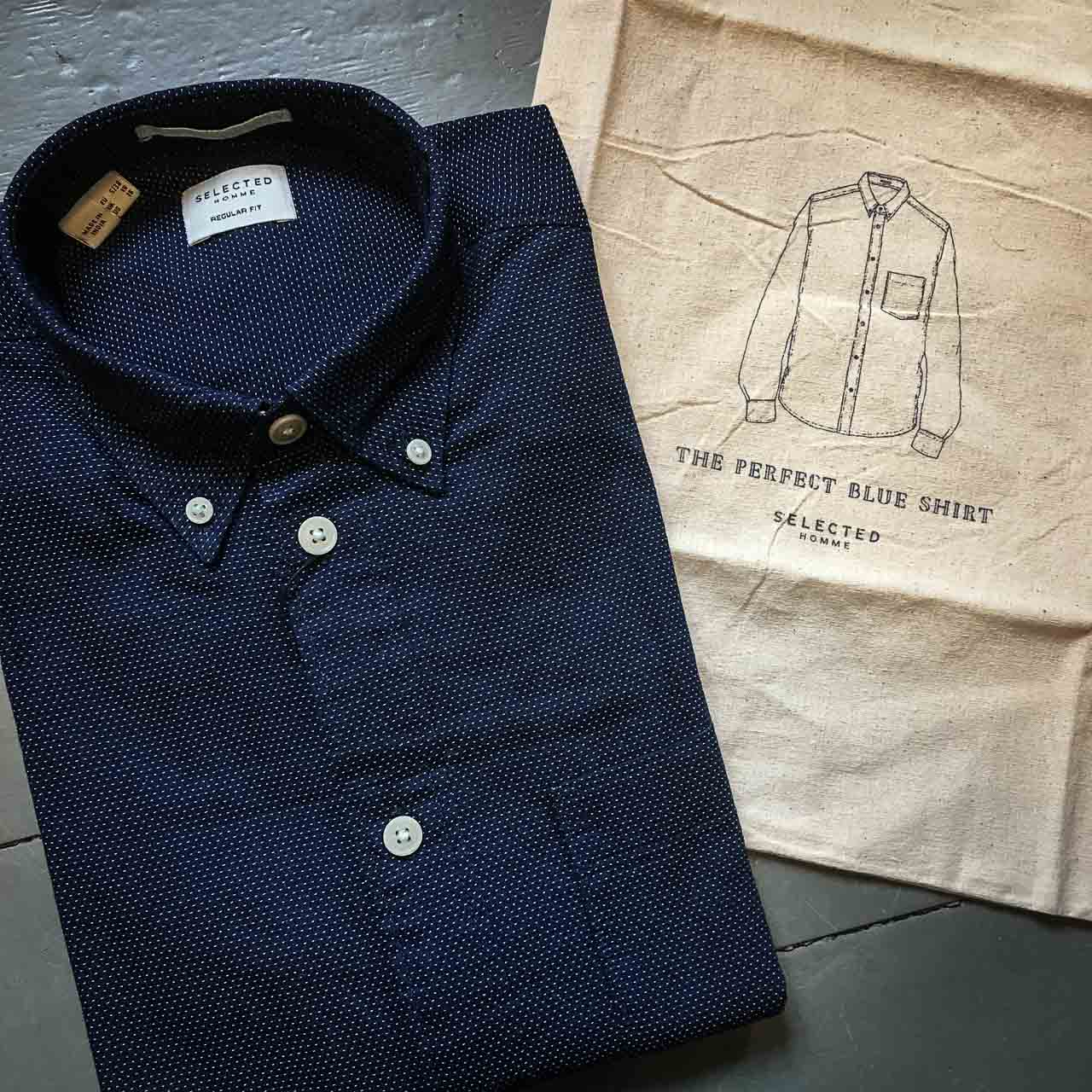 Selected Homme Blue Shirt