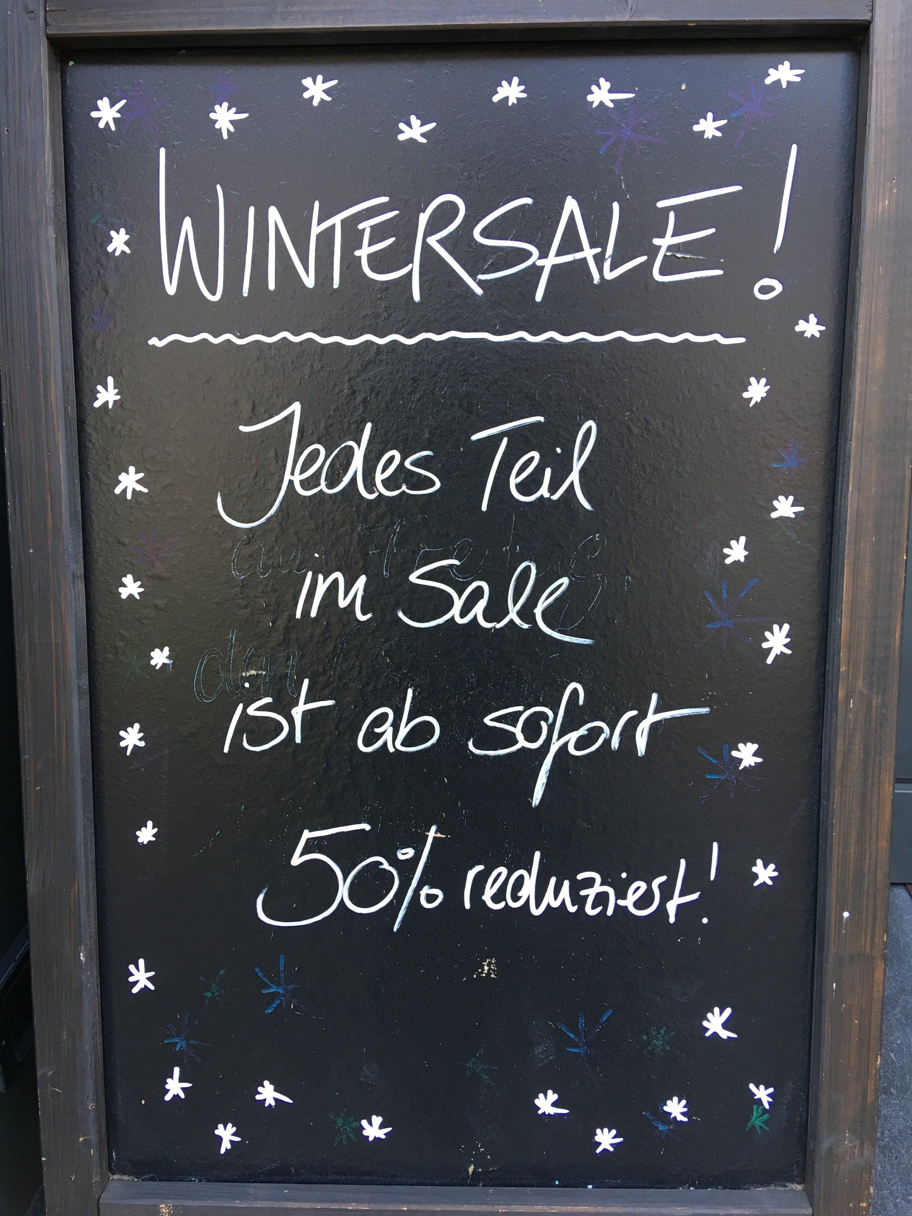 Wintersale bei VIVA! in Erftstadt