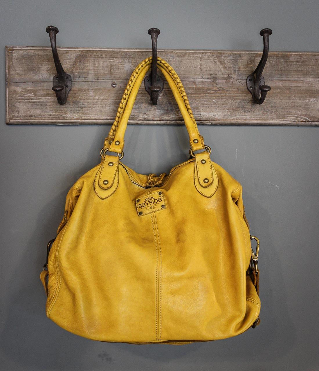 Gelbe Bayside Tasche