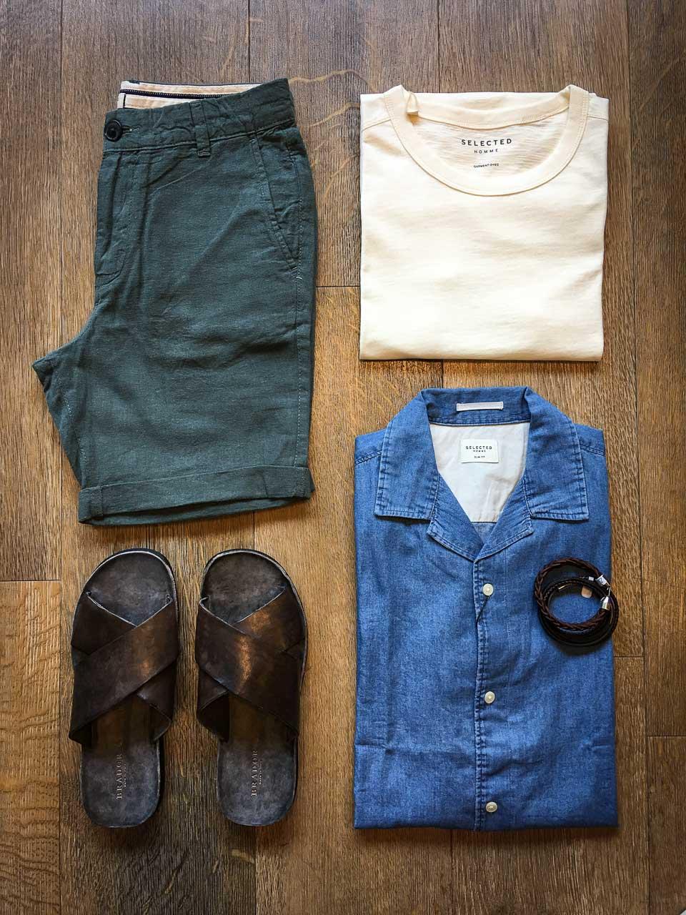 Sommer-Herren-Outfit