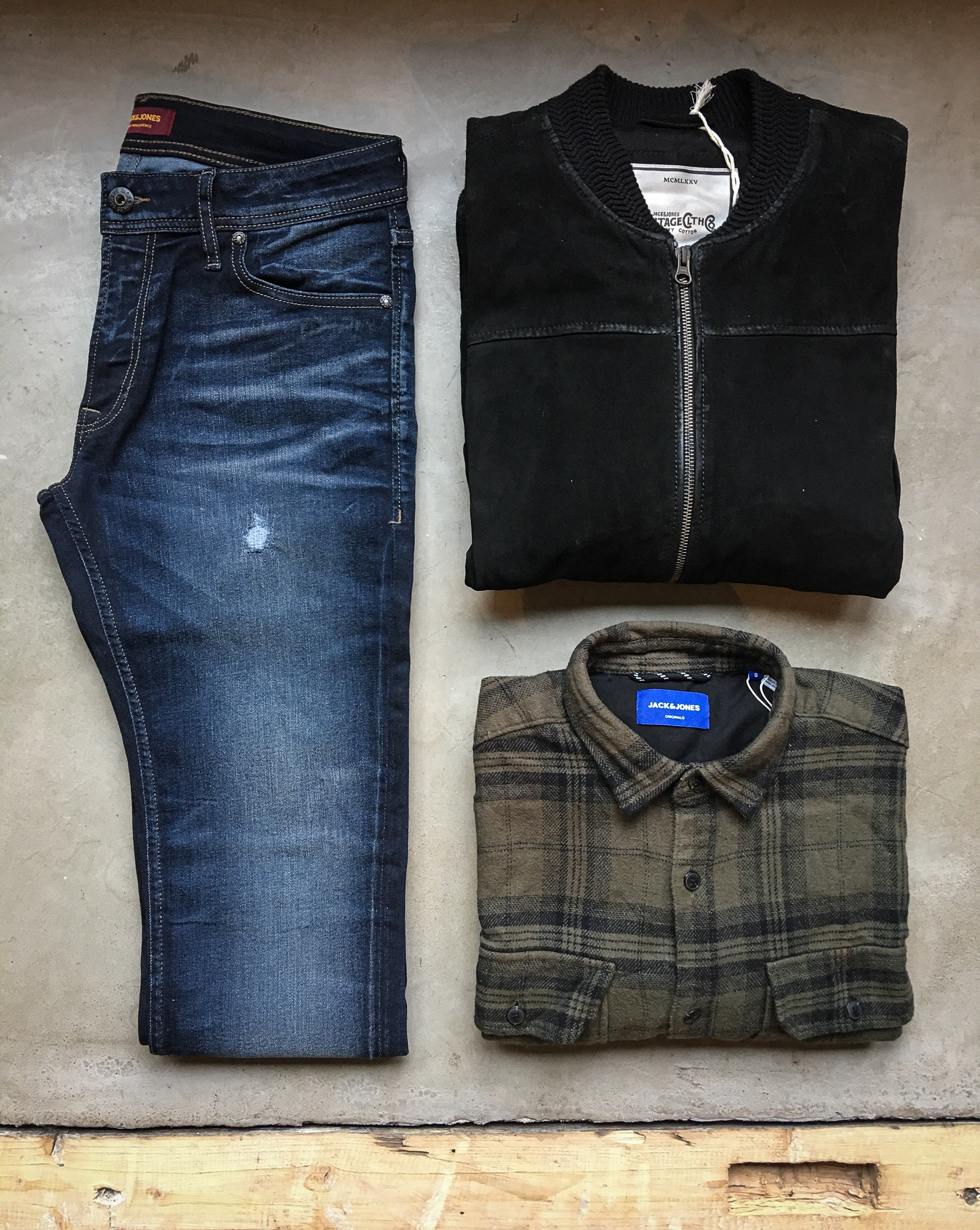 Herbstoutfit Jack & Jones