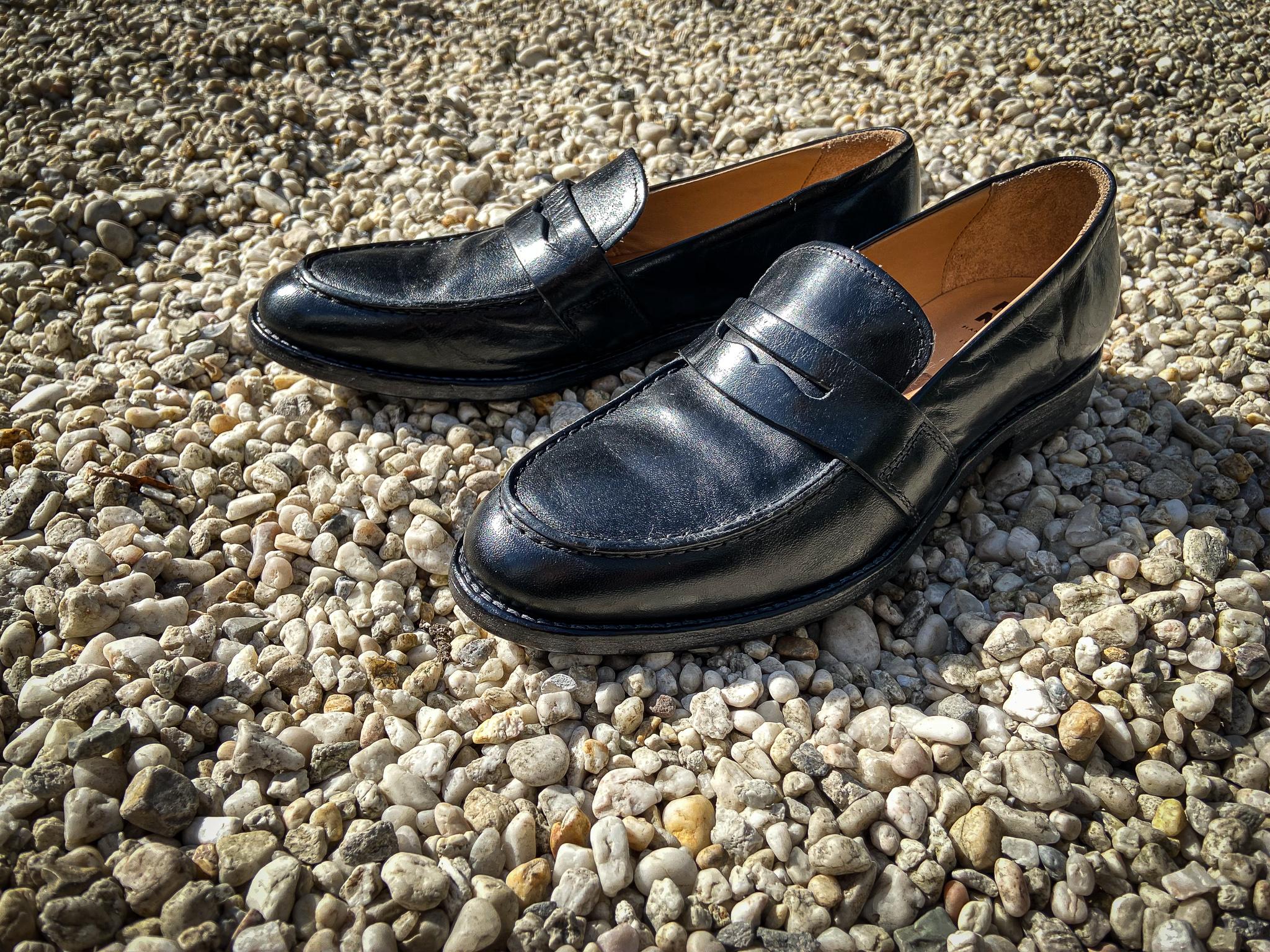 MOMA Glattleder Loafer