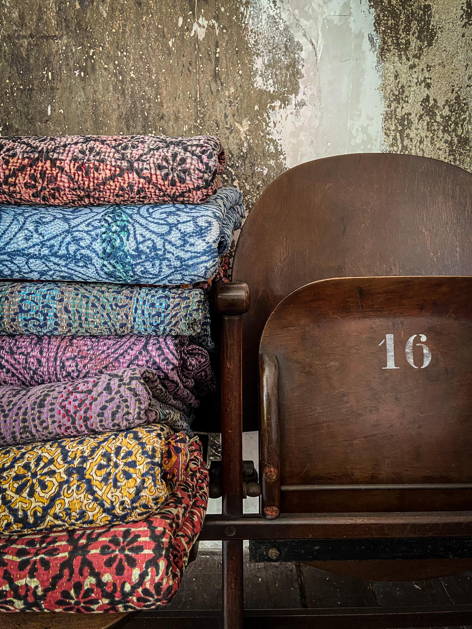 Decken aus Indien