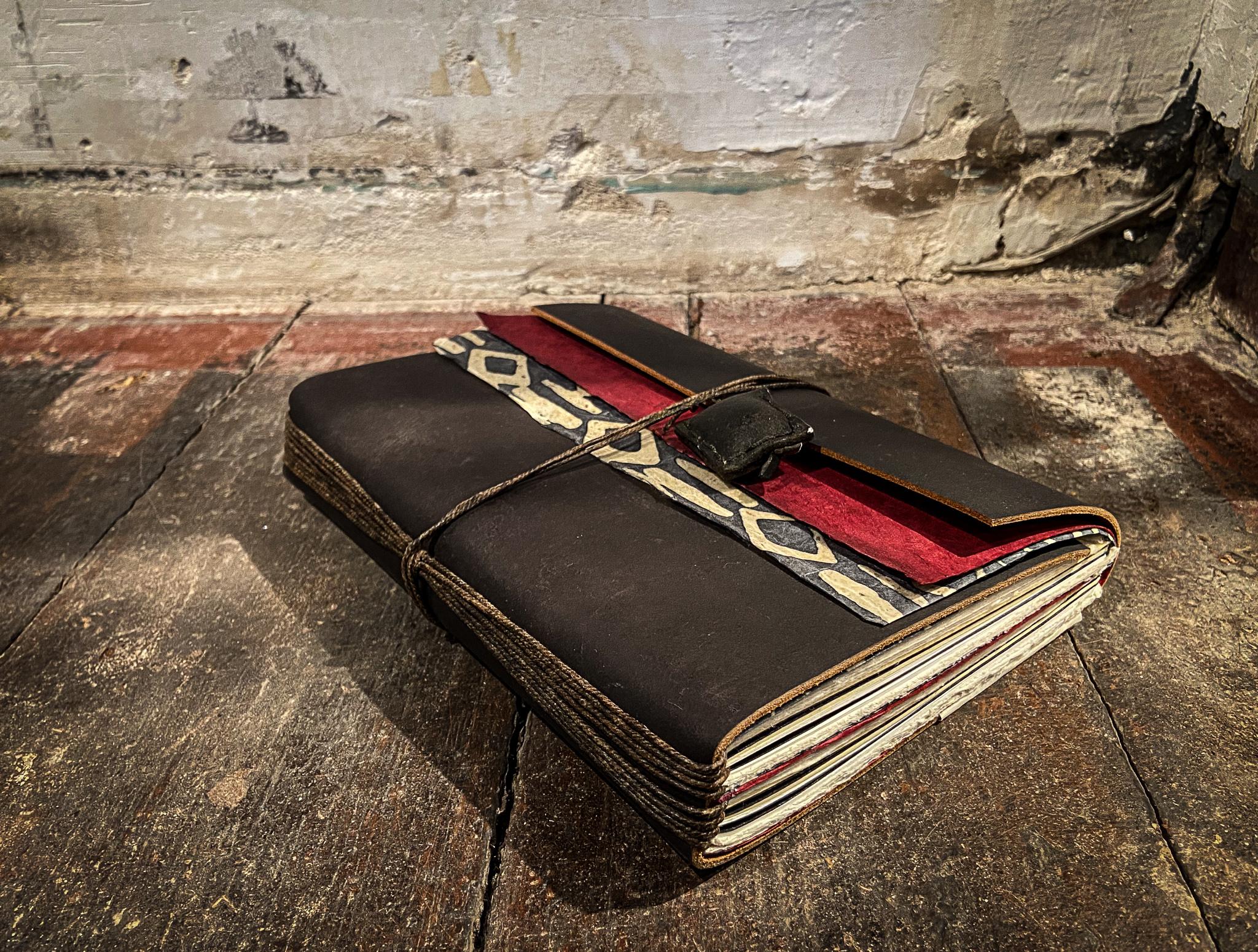 Leder Notizbuch